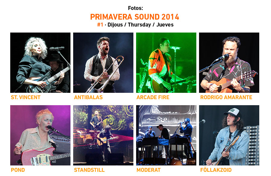 Primavera Sound 2014 #1 · Thursday